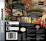GBA - Looney Tunes Back in Action (back)