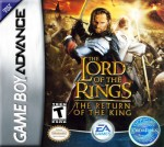 GBA - The Lord of the Rings: The Return of the King (front)