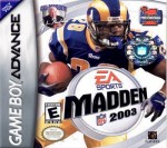 GBA - Madden 2003 (front)
