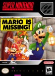 SNES - Mario is Missing! (front)