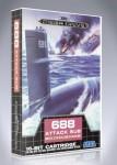 Mega Drive - 688 Attack Sub
