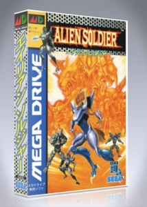 Mega Drive - Alien Soldier