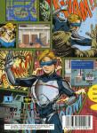 Mega Drive - Rent A Hero (back)
