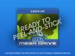 Mega Drive - A Bug's Life Label