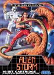 Mega Drive - Alien Storm (front)