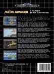 Mega Drive - Alisia Dragoon (back)