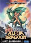 Mega Drive - Alisia Dragoon (front)