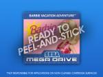 Mega Drive - Barbie Vacation Adventure Label