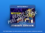 Mega Drive - Battle Mania 2 Label
