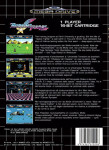 Mega Drive - Burning Force (back)