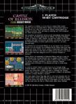 Sega Mega Drive - Castle of Illusion: Starring Mickey Mouse (back)