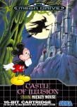 Sega Mega Drive - Castle of Illusion: Starring Mickey Mouse (front)