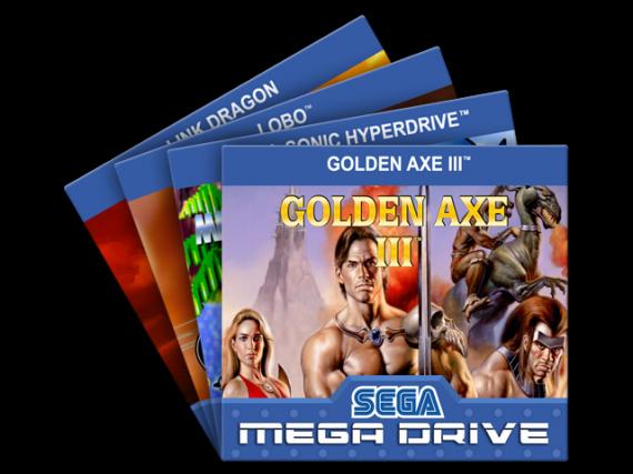 Mega Drive Labels