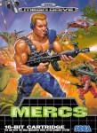 Mega Drive - Mercs (front)