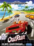 Mega Drive - Outrun (front)