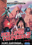 Mega Drive - Rolling Thunder 2 (front)