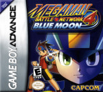 GBA - MegaMan Battle Network 4 Blue Moon (front)