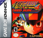 GBA - MegaMan Battle Network 4 Red Sun (front)