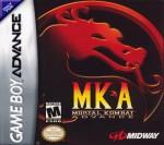 GBA - Mortal Kombat Advance (front)