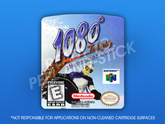 N64 - 1080 Snowboarding