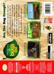N64 - A Bug's Life (back)