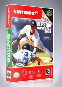 N64 - All-Star Baseball 2000