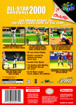 N64 - All-Star Baseball 2000 (back)