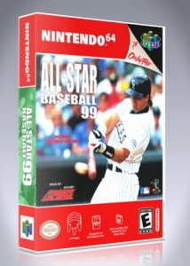 N64 - All-Star Baseball '99