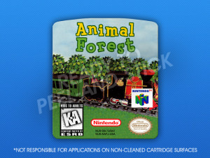 N64 - Animal Forest Label