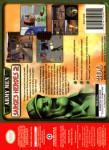 N64 - Army Men Sarge's Heroes 2 (back)