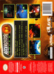 N64 - Asteroids Hyper 64 (back)