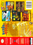 N64 - Banjo-Tooie (back)