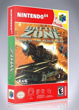 N64 - Battle Zone: Rise of the Black Dogs