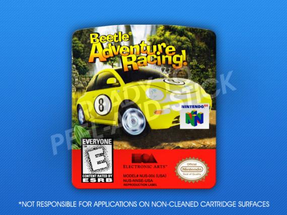 N64 - Beetle Adventure Racing Label