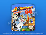 N64 - Bomberman 64: Arcade Edition Label