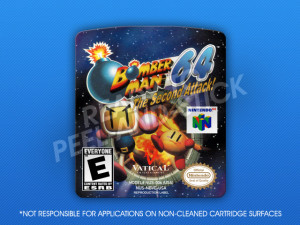 N64 - Bomberman 64: The Second Attack! Label