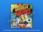 N64 - Bomberman Hero Label