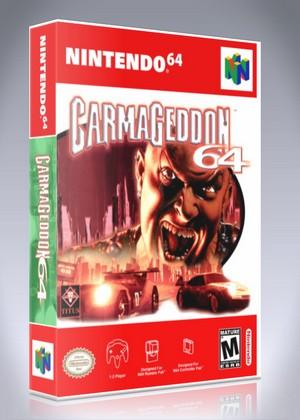 N64 - Carmageddon 64