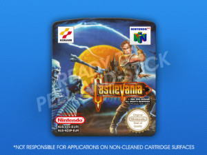 N64 - Castlevania PAL Label