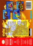 N64 - Charlie Blast's Territory (back)