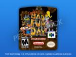 N64 - Conker's Bad Fur Day Uncensored Label