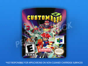 N64 - Custom Robo Label