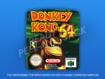 N64 - Donkey Kong 64 PAL Label