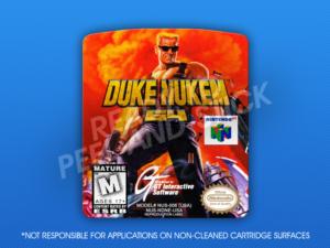 N64 - Duke Nukem 64 Label