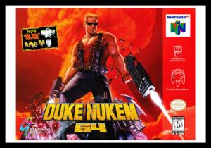 N64 - Duke Nukem 64 Poster