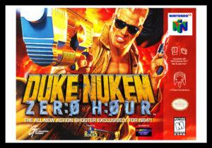 Duke Nukem: Zero Hour Poster