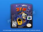 N64 - Earthworm Jim 3D Label