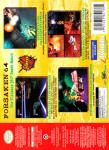 N64 - Forsaken 64 (back)