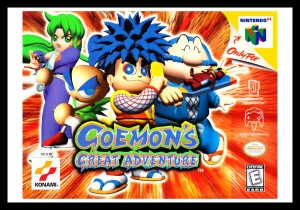 N64 - Goemon's Great Adventure Poster