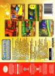 N64 - Goemon's Great Adventure (back)